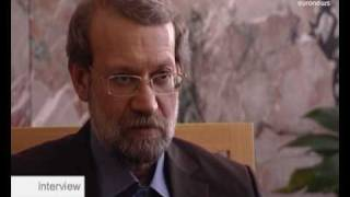 Larijani speaks on Iran's nuclear programme - interview