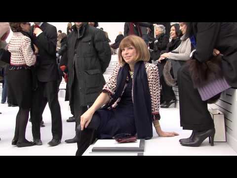 Anna Wintour 2008 (unedited footage) - [Sony HDR-FX7E]