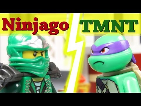 Green Power Ninja - a short brickfilm by MonsieurCaron