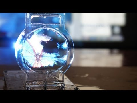 Scientists Use Sound To Project Images On Screens Made Of Soap Bubbles video