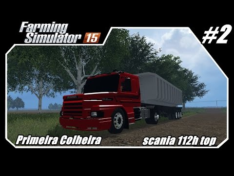 Farming Simulator 2015 -- Descobrindo Lugares Novos -- Scania 112h