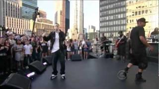 Watch Eminem Renegade video