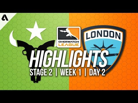 Houston Outlaws vs London Spitfire | Overwatch League Highlights OWL Stage 2 Week 1 Day 2