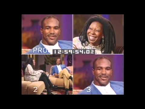 90's Throwback: The Whoopi Goldberg Show - Evander Holyfield