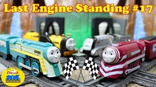 THOMAS AND FRIENDS TRACKMASTER| LAST ENGINE STANDING #17 with Stephen Connor Caitlin Toy Trains