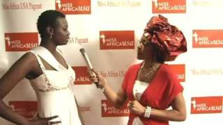 Gnima  Diop - Miss Africa USA Finalist 2010