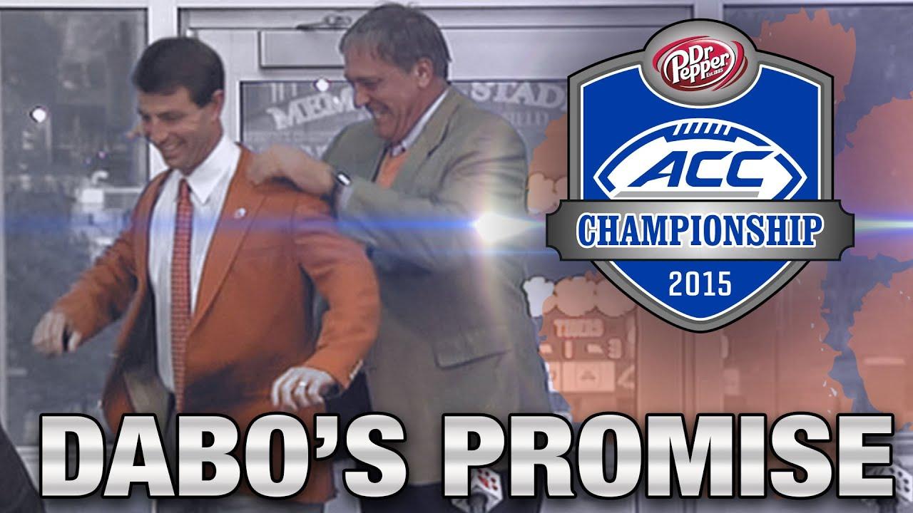 "Clemson Football Hype Video: ""Dabo's Promise"""