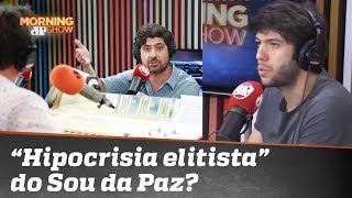 "Caio Coppolla critica ""hipocrisia elitista"" do Sou da Paz; membro do instituto rebate"