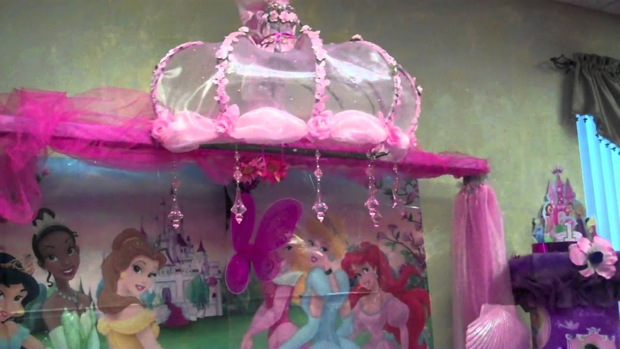 Natshia Decorations Disney Princess Party Theme YouTube