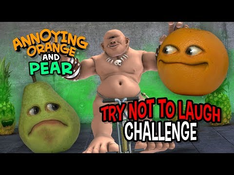 Annoying Orange - Try Not to Laugh Challenge
