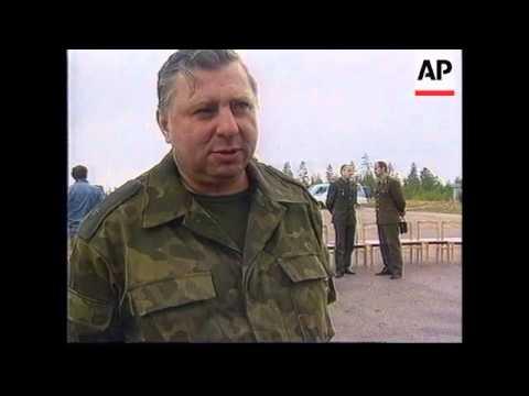 RUSSIA : BORDER GUARDS TRAINING