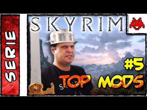 TOP SKYRIM MODS #5 . Os Melhores MODS gráficos . Parte 2 . Instalação e Configuração Gráfica . HD