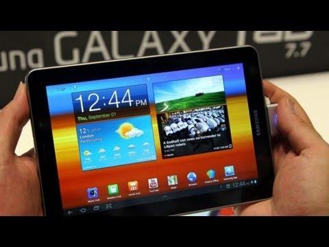 Samsung Galaxy Tab 7.7 Testbericht - Das zur Zeit beste Tablet im Test