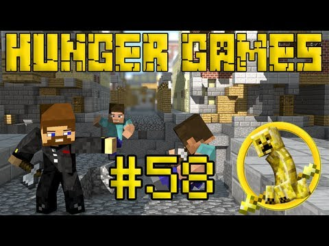Minecraft Hunger Games #58 - Удар молнии