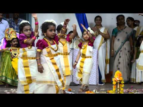 Thiruvathira -parvanendu -st.thomas School Onam Celebrations video