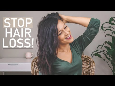 TIPS FOR PCOS HAIR LOSS - YouTube