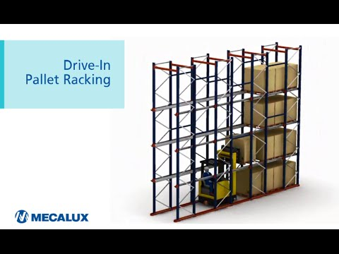 High density storage, Drive-In Pallet Racking system | Mecalux Group