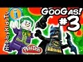 GOO GAS Part 3! Joker Poops on Batman in Prison + Goo Gas Battle! HobbyKidsTV