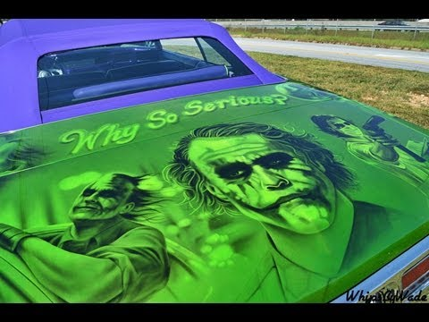 1972 Chevrolet Impala Quot The Joker Quot Convertible Donk Youtube