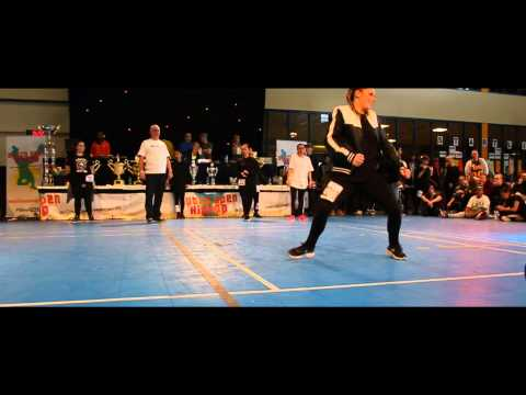 Belle Fisher - Dutch Open 2015 - 5. Place Solo Girls Adults Star video