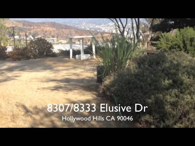 1/2 Acre View Home set atop the Hollywood Hills for Sale