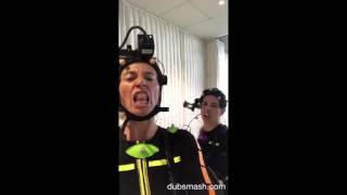 Claudia Black & Laura Bailey karaoke 2016 #ClaudiaBlack