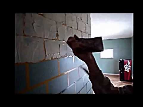 How to Create a Faux Brick Wall - YouTube