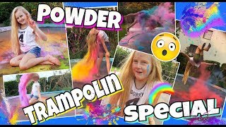 Holi POWDER Gymnastik Trampolin Special feat. LUCA HÄNNI | MAVIE
