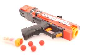 Nerf Rival Deadpool Apollo Unboxing, Review & Firing