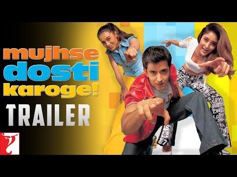 Mujhse Dosti Karoge - Trailer | Hrithik Roshan | Kareena Kapoor | Rani Mukerji