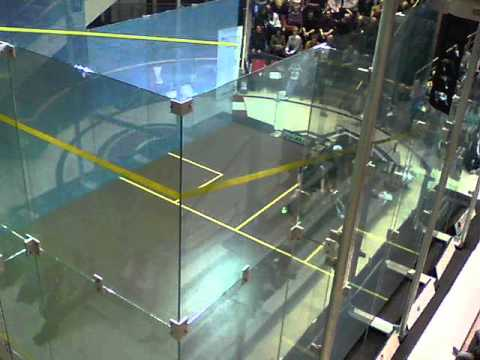 MONTREAL: The PSA Montreal Squash Open in the Montreal Forum October 20 - 26, 2014.