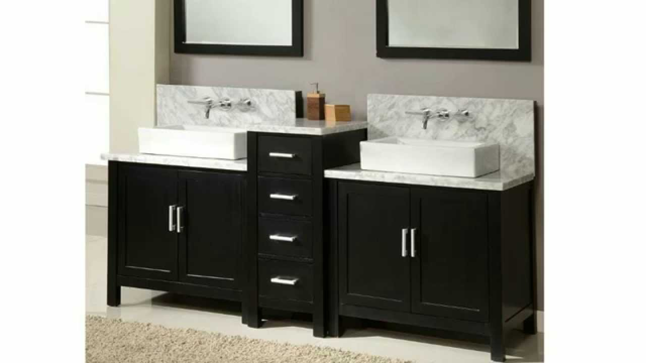 Bathroom Vanities Built For Wall Mounted Faucets YouTube