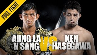 Aung La N Sang vs. Ken Hasegawa | Middleweight Dominance | March 2019 | ONE: Full Fight