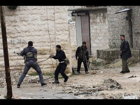 Heavy Clashes As Syrian Rebels Storm Babuleen Village | Syria Civil War 2014