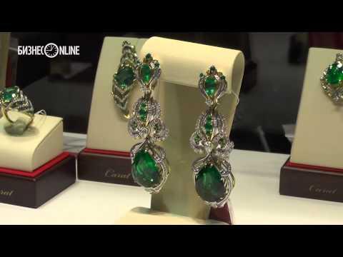 Серьги за $1 млн.: на Казанской ярмарке открылась ювелирная выставка