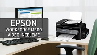 Epson Workforce M200 Video İnceleme