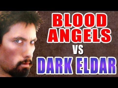 Blood Angels vs Dark Eldar Warhammer 40k Battle Report - Banter Battrep Ep 98