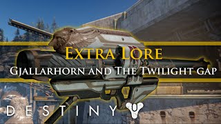 Destiny Lore - Gjallarhorn and the battle of The Twilight Gap (Extra Lore)