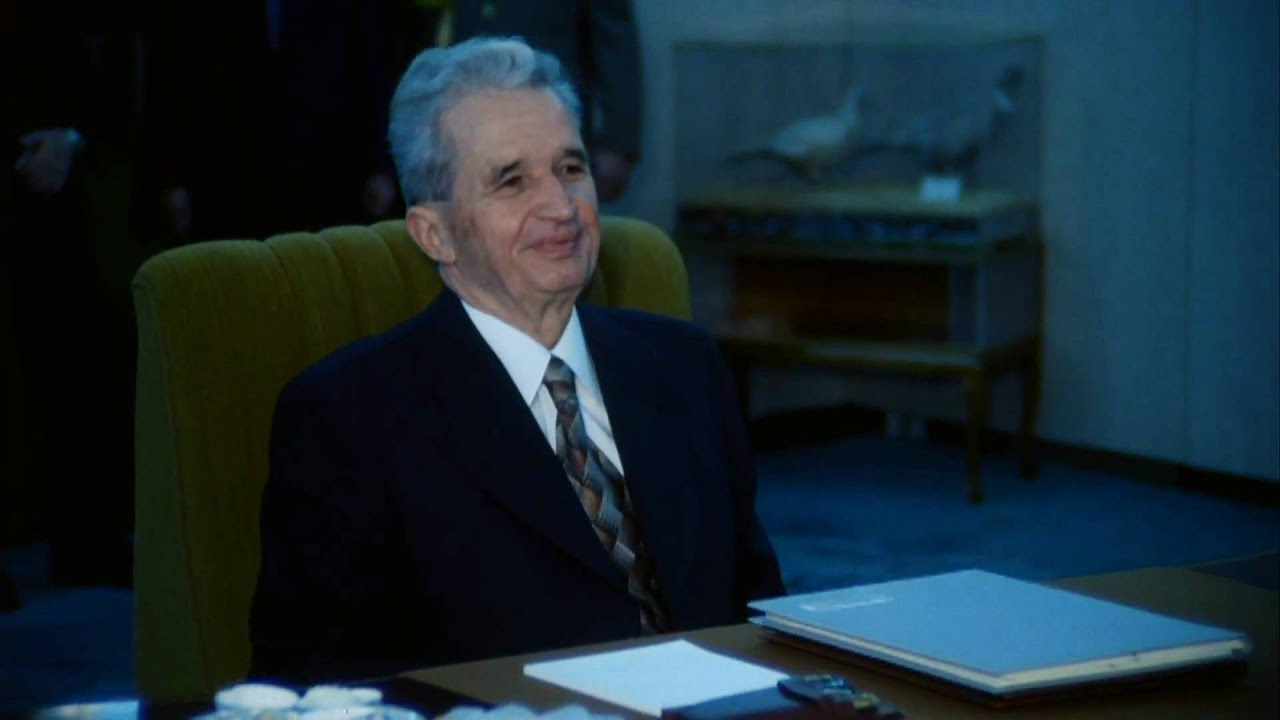 The autobiography of nicolae ceausescu 2010 trailer youtube