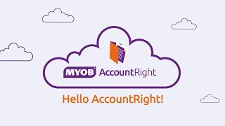 Welcome to MYOB AccountRight. Start here.