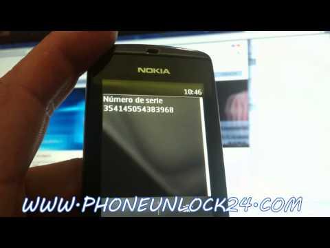 UNLOCK NOKIA 300 302 ASHA.Liberar Nokia 300 Asha. desbloquear Nokia 300 Asha
