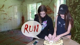 USING THE OUIJA BOARD IN MY HAUNTED HOUSE | PART 2