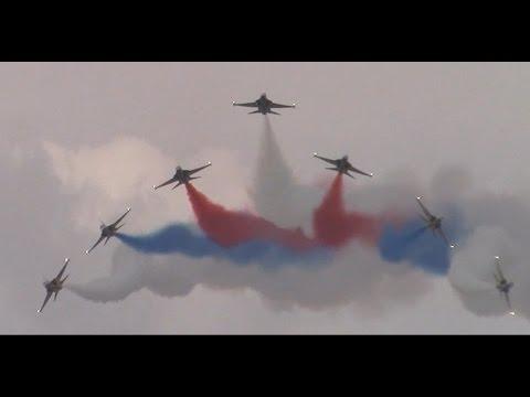 Singapore Airshow 2016 - Republic of Korea Air Force Black Eagles Aerial Acrobatics