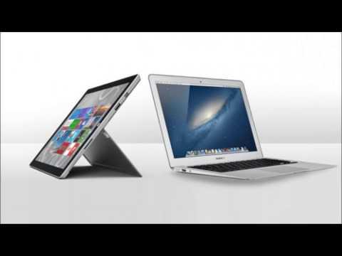 Musique Pub Microsoft Surface Pro 3 VS Macbook Air 2014