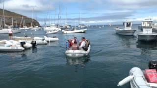 Small Boat Docks at Two Harbors, Catalina Island