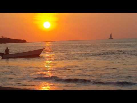 Sunset in tamarindo costa rica