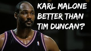 Is Karl Malone better than Tim Duncan? | Kevin Garnett Is Overrated