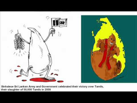 Genocide In Sri Lanka. Sri Lanka's Genocide Of Tamils. Tamil. Sinhala. Army video