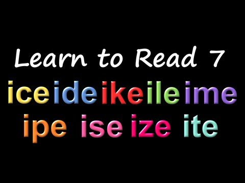 Learn to Read 7: Phonics & Rhyming - The Kids' Picture Show (Fun & Educational Learning Video)