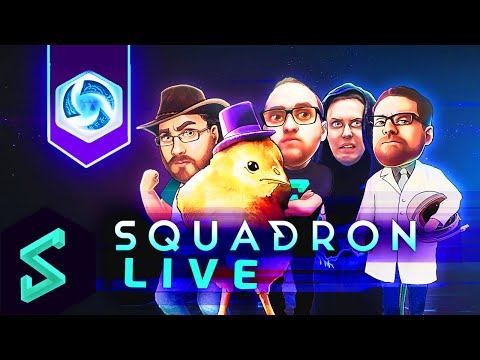 Squadron LIVE | Group Gameplay for Heroes of the Storm [Facecams]